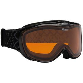 Alpina Challenge S 2.0 Quattroflex Hicon S2 goggles Dames zwart